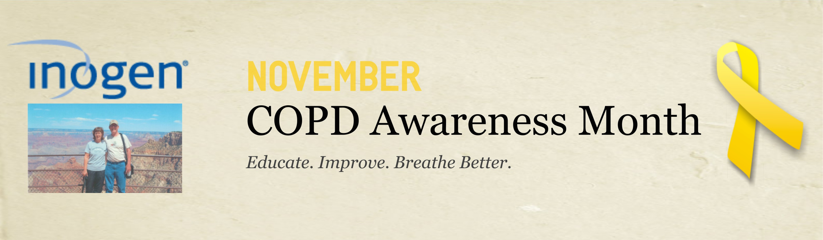 COPD Awareness Banner