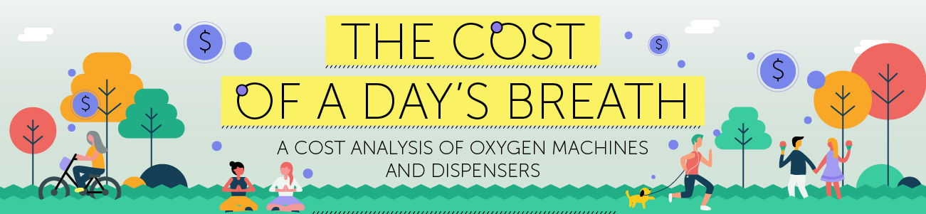 air, oxygen, fresh air, breath, breathe, cost of air, cost of oxygen