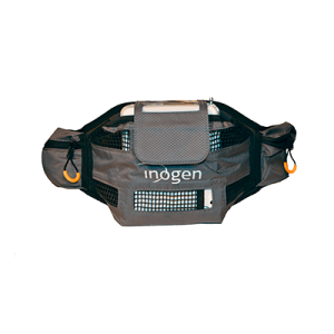 Front View of the Inogen One G4 Hip Bag